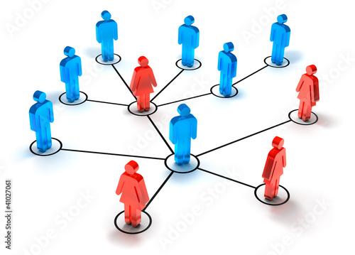 Netzwerk Mann + Frau
