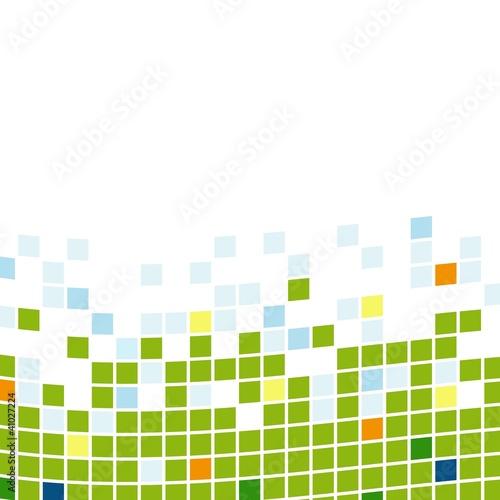 Hintergrund Quadrate