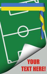 Spielfeld-Plakat NEUTRAL UKRAINE