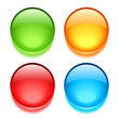 Blank vector buttons