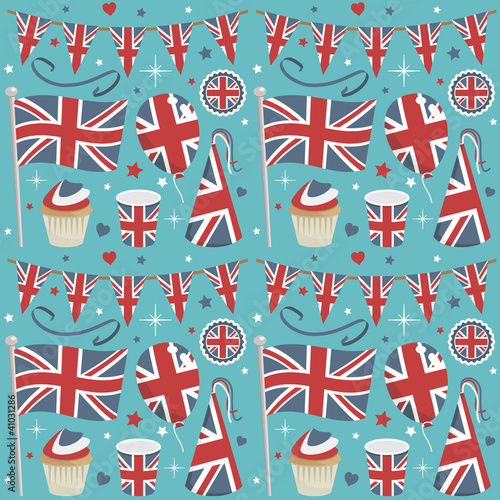 uk party pattern