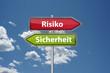 Risiko oder Sicherheit