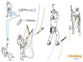 Climbing sets