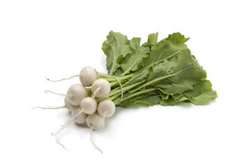 Mini white turnips