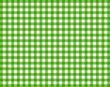Tischdecke kariert - Grün-Weiß