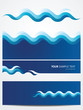 Abstract vector background -water waves - 41032282