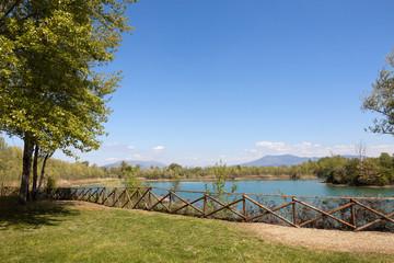 Scorcio del Parco dei Renai, Signa