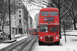 Fototapete England - London - Bus