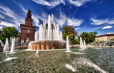 HDR ....Castello Sforzesco Milano