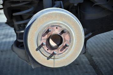 Brake drum of the car