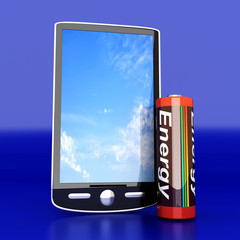 Smartphone Batterie
