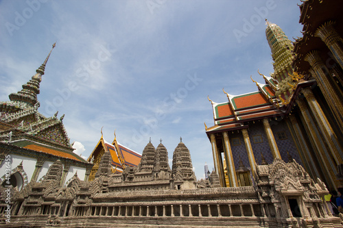 Grand palace of Thailand and mini Angkor Wat