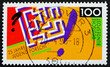 Postage stamp Germany 1990 Labyrinth, Youth Science and Technolo