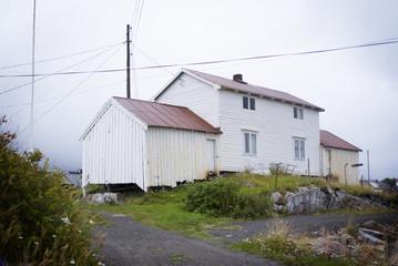 Traditional fishermans house, Lofoten island