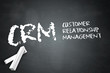 "Blackboard ""CRM - Customer Relationship Management"""