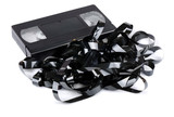 Tangled video tape