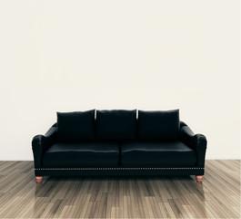 minimal modern interior couch