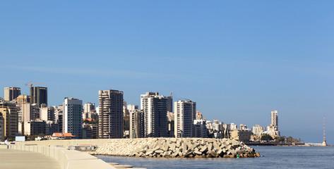 Beirut City Skyline, Lebanon