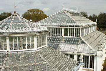 glasshouses in Kew Gardens