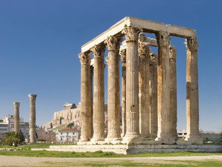 Olympian Zeus temple, Athens, Greece