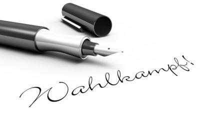 Wahlkmapf! - Stift Konzept