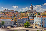 Fototapety Beautiful view of Lisbon old city, Portugal