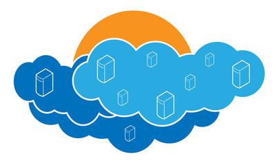 Digital Blue Clouds