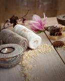 Fototapety Natural spa setting