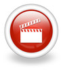 "Light Red Icon ""Clapperboard"""