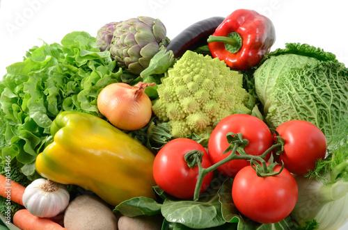 Stampa su Tela Fresh vegetables