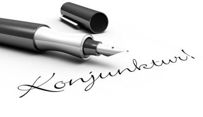 Konjunktur! - Stift Konzept