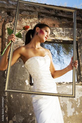 Bride is Framed