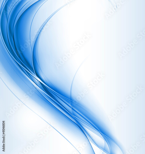 new blue shiny wave composition vector