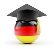 education in germany graduation cap