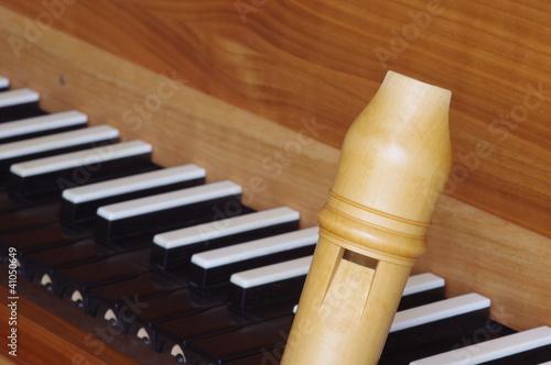 Blockflöte und Cembalo 1