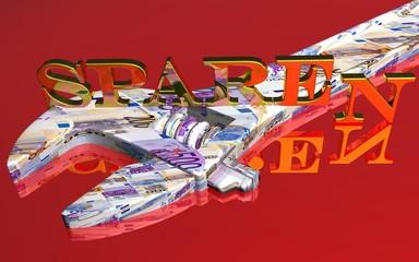 3D Werkzeug rot - SPAREN