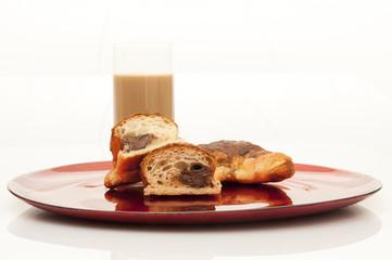 colazione con cornetti