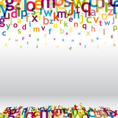 alphabet haut de page
