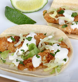 Fish Taco and Lime