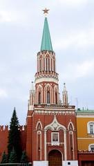 Moscow - Nikolskaya Tower