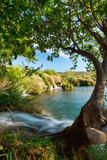 Fototapety small waterfalls on river Zrmanja, Croatia