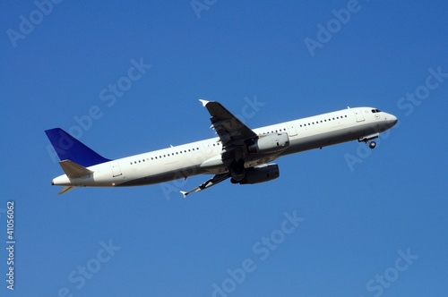 Airbus A321 airplane taking off © Arena Photo UK