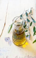 Olio di oliva in bottiglia