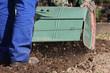 Fräse, Bodenbearbeitung,  rotary hoe