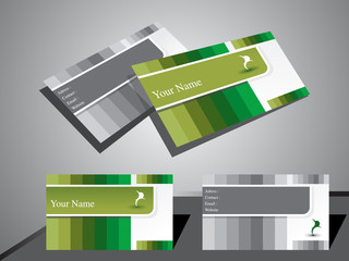 abstract classic business card
