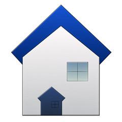 Real estate metal icon
