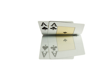 pocket aces cards casino
