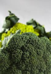 Cavolfiore e broccolo romano