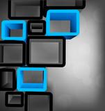 Fototapety Cubes design