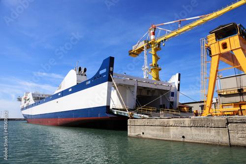passenger ferry ship